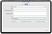 optie voor het toewijzen van de taal van een element in het venster objecteigenschappen