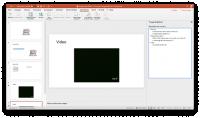 schermafdruk van powerpoint met de toegankelijkheidscontrole.